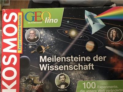 Kosmos geolino meilensteine der wissenschaft baukasten forum cc