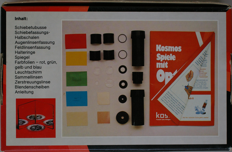 Das experimentierkasten board u2022 thema anzeigen kosmos spiele mit optik