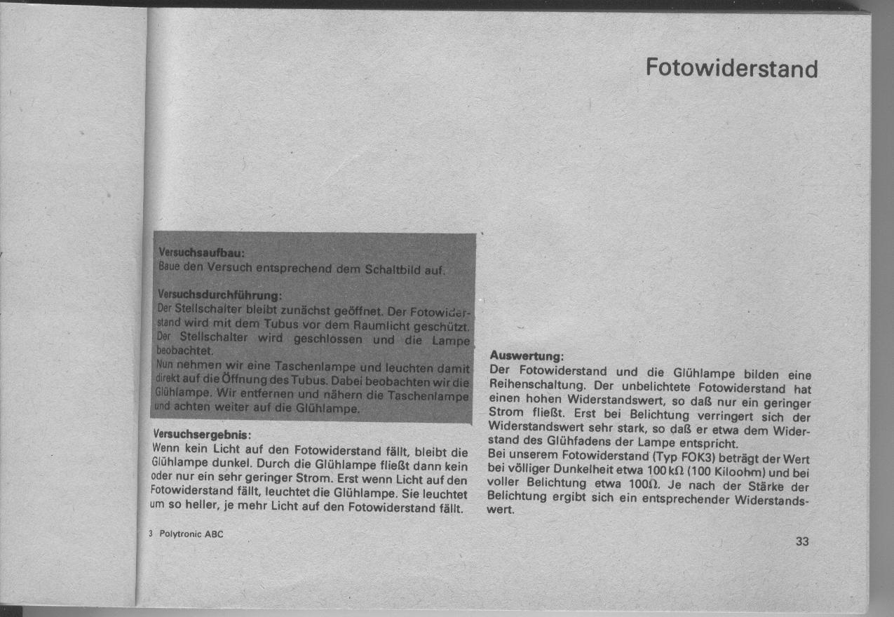 "DDR & Ostalgie 11 021 DDR Experimentierkasten Polytronic Elektrotechnik 3 ""Anleitung DDR"