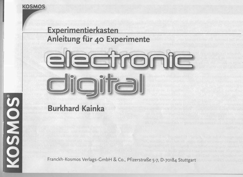 DAS EXPERIMENTIERKASTEN-BOARD • Thema anzeigen - KOSMOS electronic ...